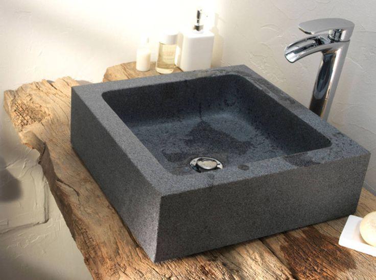 Id e d coration salle de bain salle de bains zen style rustique chic - Decoration salle de bain rustique ...