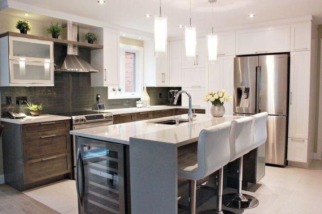 id e relooking cuisine cuisine contemporaine avec int gration d 39 un cellier dans l 39 lot. Black Bedroom Furniture Sets. Home Design Ideas