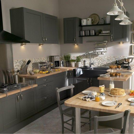 ide relooking cuisine quelle couleur pour votre cuisine quipe cuisine blanche cuisine rouge noire ou orange - Quelle Couleur Pour Une Cuisine Blanche