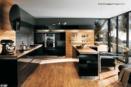 Idee Cuisine En U. Top Great Revtement Mural Cuisine U Murs Design ...