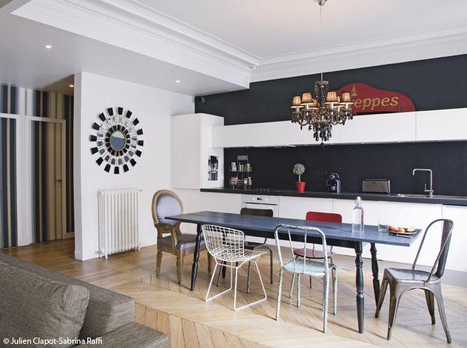 elegant ide relooking cuisine cuisine ouverte salle manger leading inspiration culture u lifestyle magazine with cuisine en longueur ouverte with salle a
