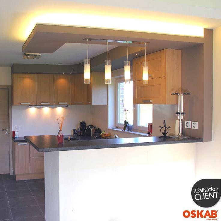 cuisines ouvertes avec bar les nouvelles cuisines vivre. Black Bedroom Furniture Sets. Home Design Ideas