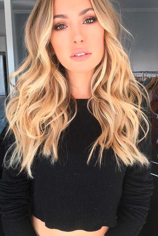 Couleur de blond pour cheveux
