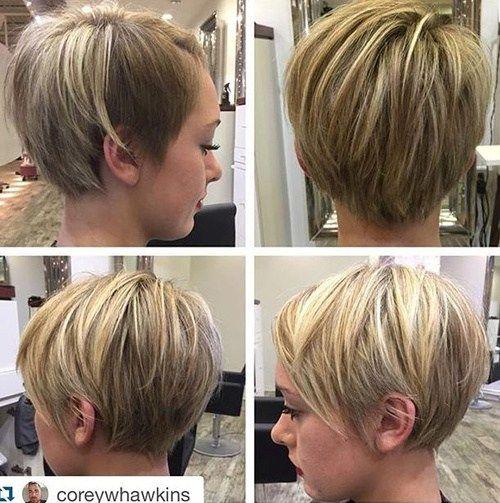 Description. 50 coiffures courtes et coupes de cheveux