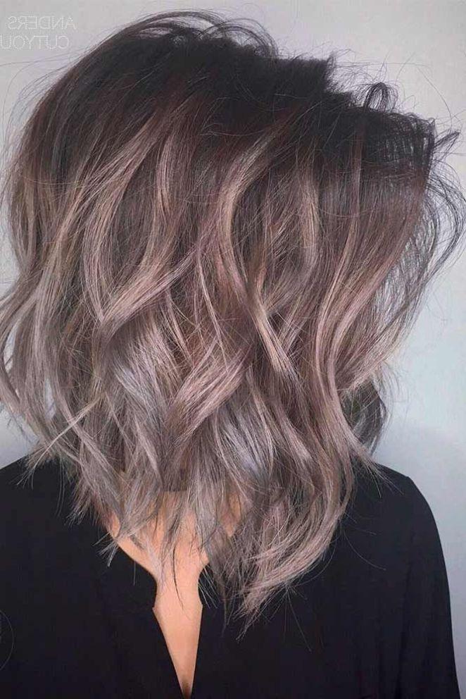 Nouvelle tendance coiffures pour femme 2017 2018 24 couleurs de cheveux c - Nouvelle couleur tendance ...
