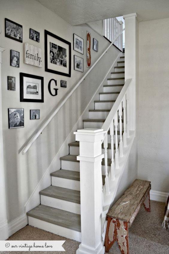 Déco Salon - décoration mur escalier ... - ListSpirit.com ...