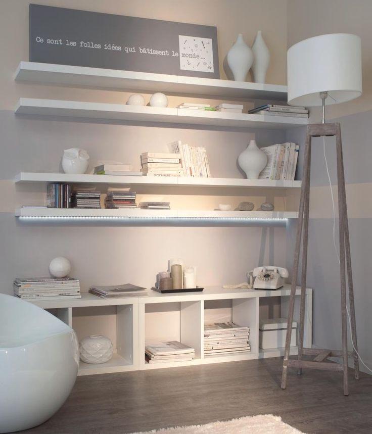 D co salon id e d co petit salon meubles modulables for Idee meuble salon