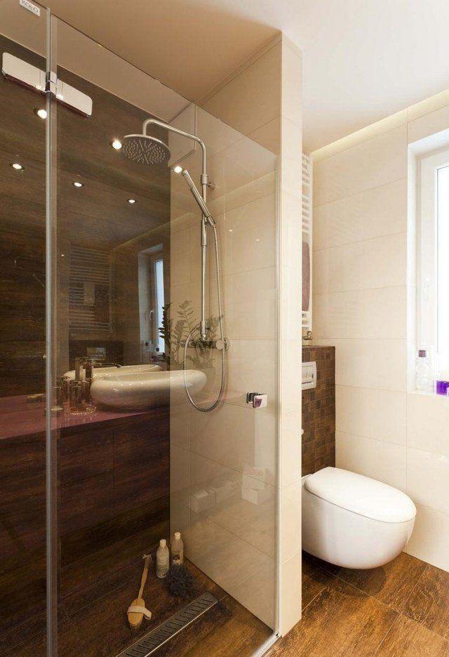 Idée décoration Salle de bain - Carrelage salle de bain imitation ...