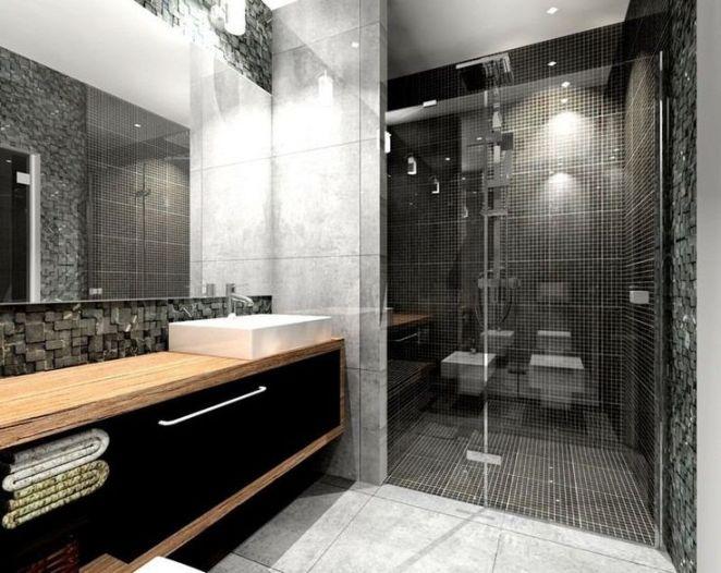 salle de bain noir ad et moi 2. la beauté de la salle de bain ...