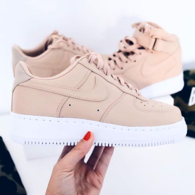 tendance basket 2017 sneakers femme nike air force one low sneakerzimmer listspirit. Black Bedroom Furniture Sets. Home Design Ideas