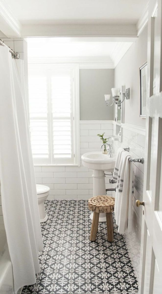 Id e d coration salle de bain faience salle de bain for Bad ideen vintage