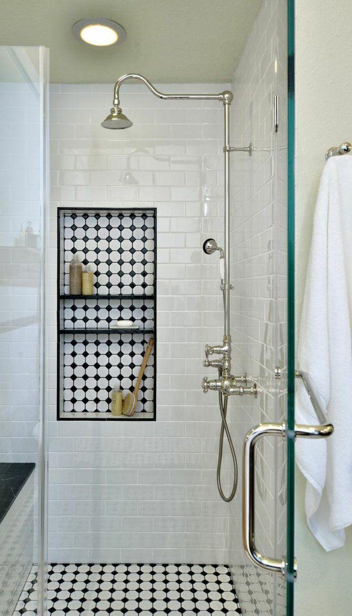 Id e d coration salle de bain salle de bain avec for Deco salle de bain noir