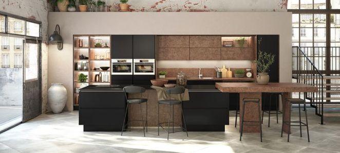 Id e relooking cuisine une cuisine moderne le mod le for Exemple de cuisine equipee