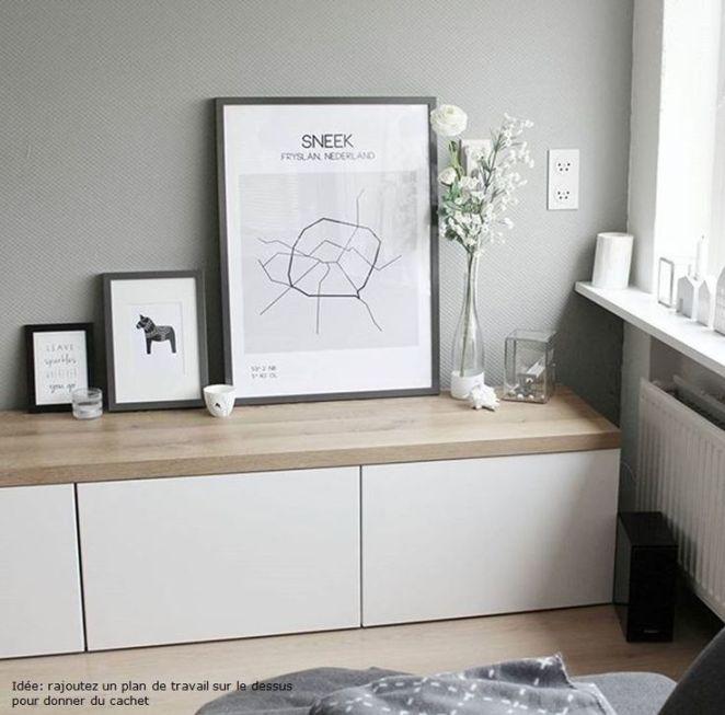 relooking et d coration 2017 2018 album 11 gamme besta ikea bureaux biblioth ques. Black Bedroom Furniture Sets. Home Design Ideas