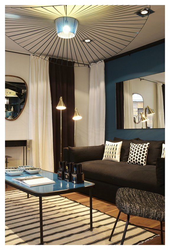 d co salon sarah lavoine bleu canard architecture d 39 int rieur leading. Black Bedroom Furniture Sets. Home Design Ideas
