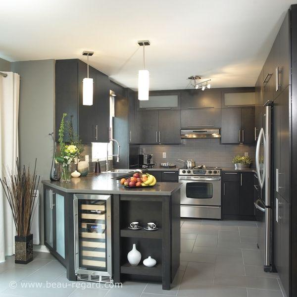 id e relooking cuisine couleurs ton gris armoire