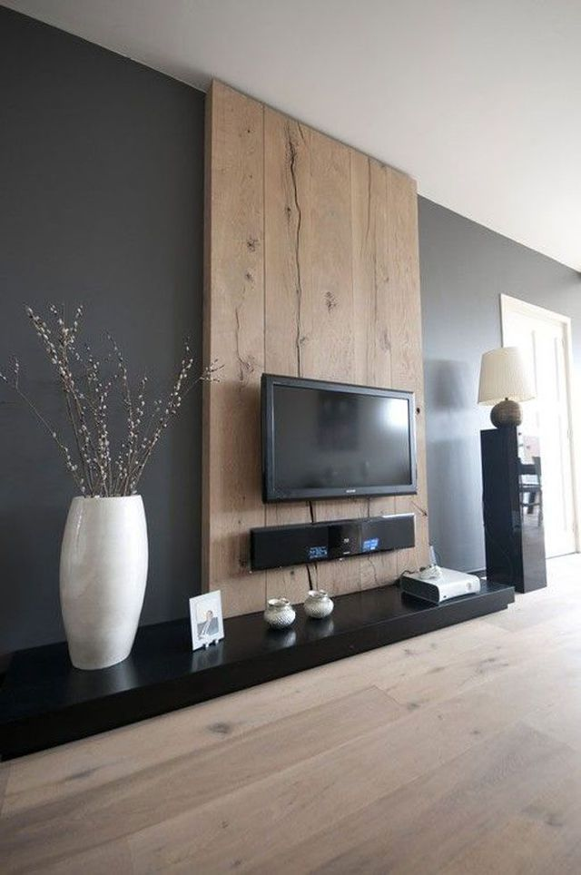 Déco Salon coin télé avec meuble déco et idée originale C´té