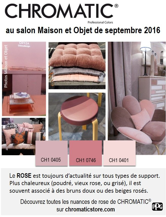 D co salon le rose au salon maison et objet de for Salon maison et objet