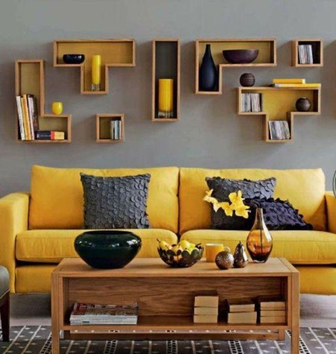Deco Salon Jaune Moutarde - Amazing Home Ideas - freetattoosdesign.us