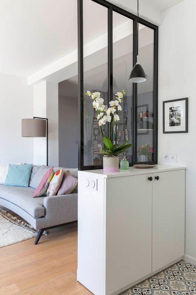 d co salon une verri re d 39 int rieur pour s parer la. Black Bedroom Furniture Sets. Home Design Ideas