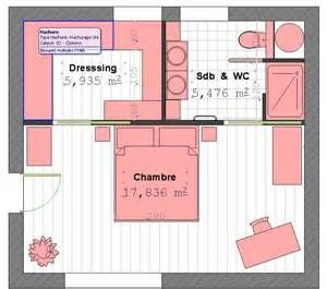 Emejing Suite Parentale Avec Salle De Bain Et Dressing Gallery - Suite parentale avec dressing et salle de bain
