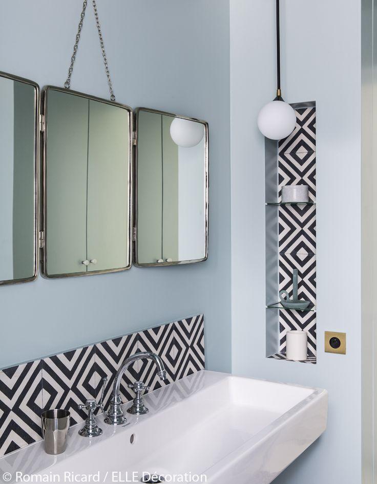 Carreaux ciment salle de bain cool carreaux ciment salle for Salle de bain carreaux