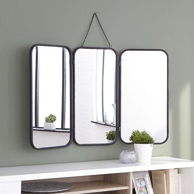 Idée décoration Salle de bain - Todd Miroir de barbier avec cadre ...