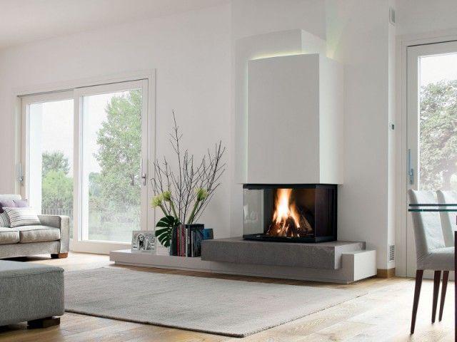 id e relooking cuisine une chemin e vitr e 180 des chemin es de toutes les fomes. Black Bedroom Furniture Sets. Home Design Ideas