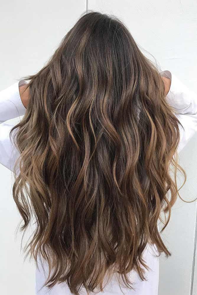 Couleur de cheveux long tendance 2018