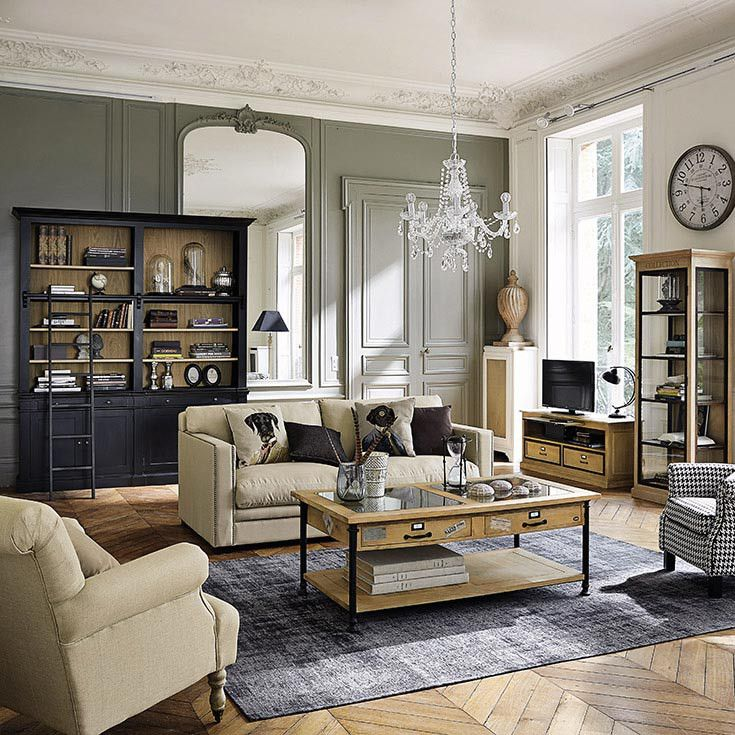 gallery of dco salon u meubles u dco duintrieur u classique chic maisons du monde with magazine. Black Bedroom Furniture Sets. Home Design Ideas