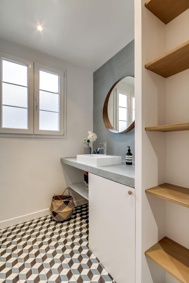 Idée décoration Salle de bain - C & M .. - Rencontre un Archi ...