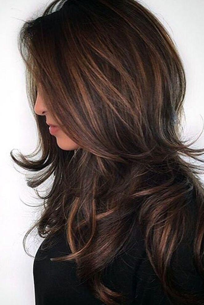 nouvelle tendance coiffures pour femme 2017 2018 id es de couleurs de cheveux balayage dans. Black Bedroom Furniture Sets. Home Design Ideas