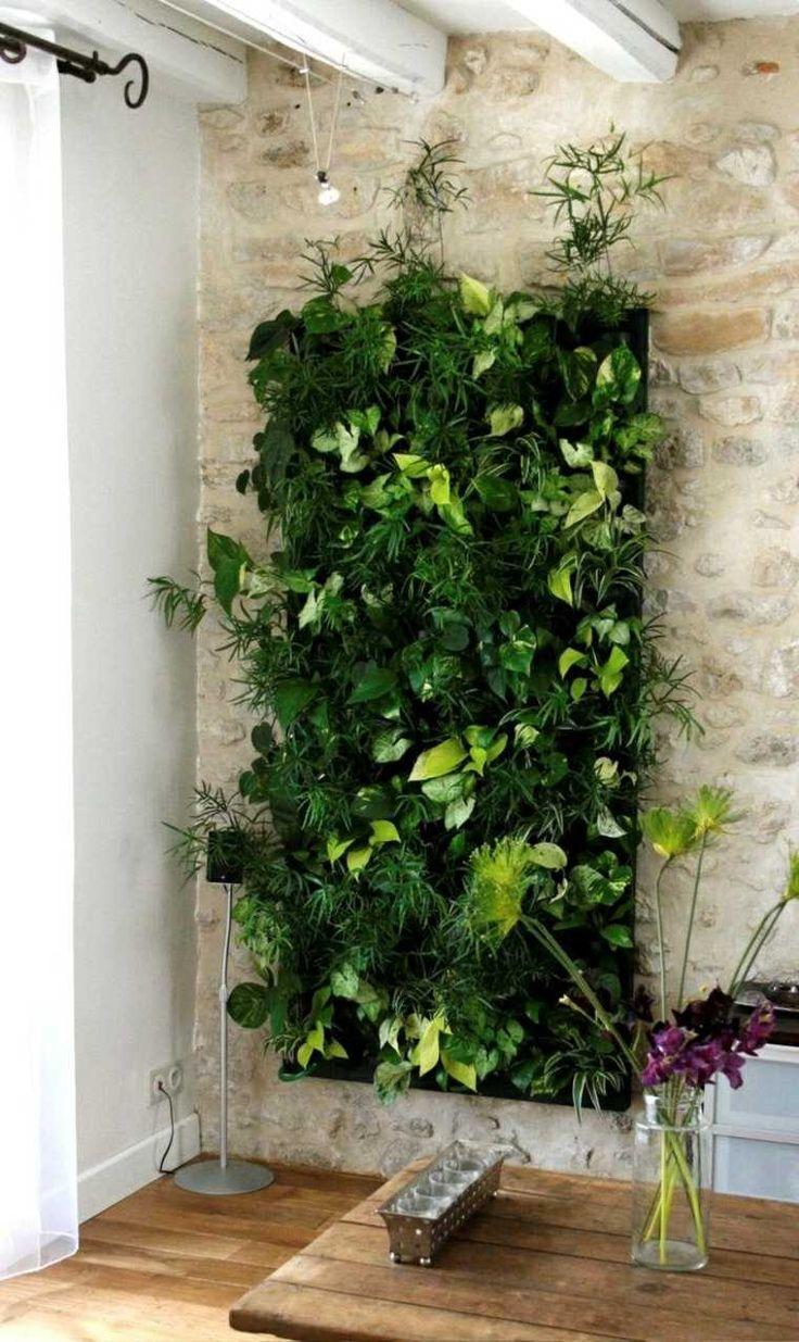 Idée décoration Salle de bain - Jardin vertical intérieur et ...