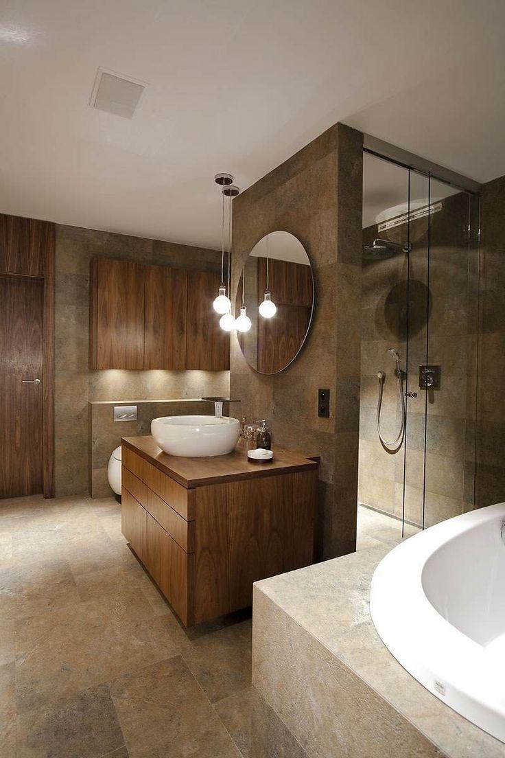 idée décoration salle de bain - salle-bain-moderne-revetement ... - Decoration Salle De Bain Moderne