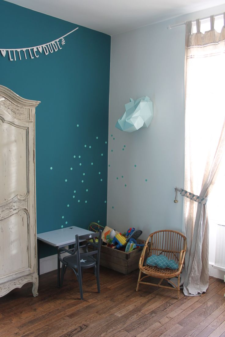 Chambre Bebe Bleu Canard Et Jaune - Novocom.top