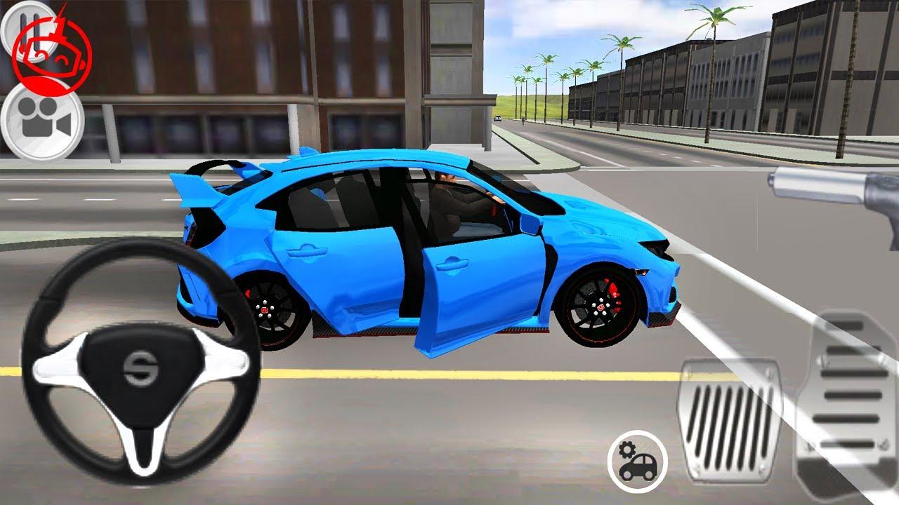 gulzar song-Typer Driving Simulator – Honda Civic Primary Paints – Car Games – Android GamePlay [FHD]-gulzar chhaniwala song