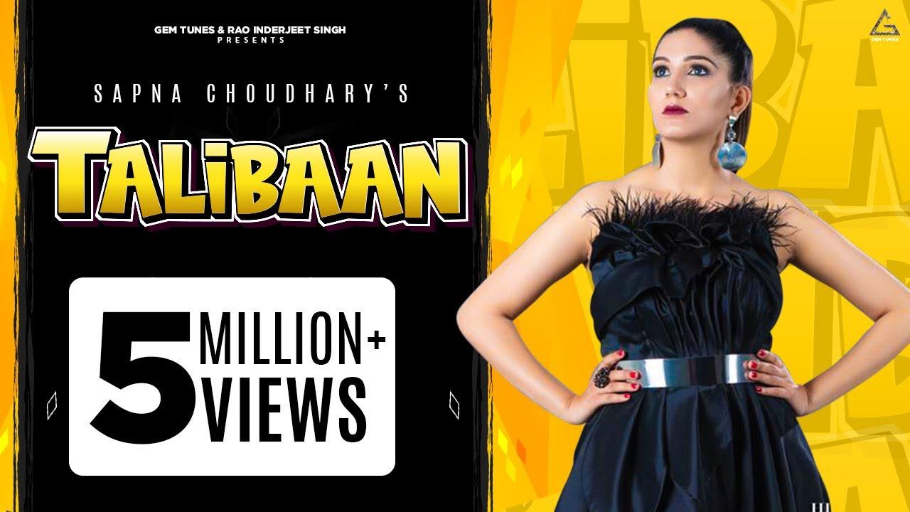 haryanvi song-Sapna Choudhary | Talibaan (Official Video) Amit Dhull | New Haryanvi Songs Haryanavi 2020