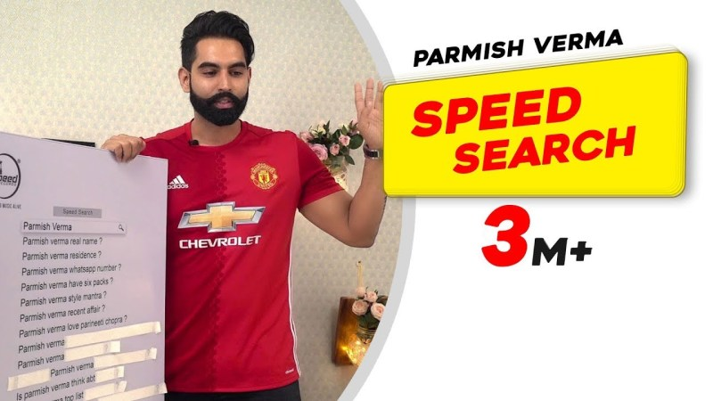 haryanvi song-Parmish Verma Answers The Most Searched Speed Questions | Secret Behind Parineeti Chopra