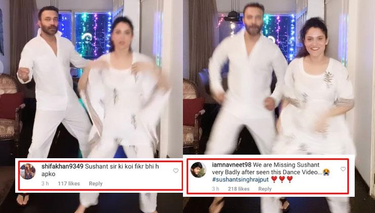 "indian box office news Ankita Lokhande shakes a leg with beau Vicky Jain on 'Bang Bang'; netizens say, ""Sushant ko itna jaldi kaise bhool sakti ho?"""