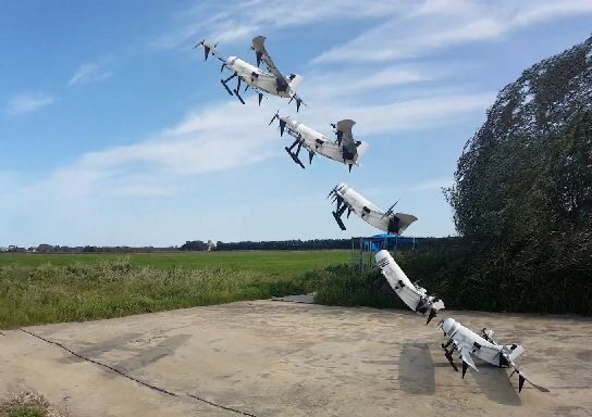 New step ahead Hydrogen-powered vertical take-off and landing drone