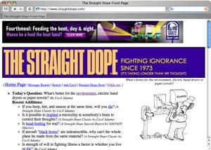 Straightdope