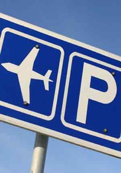 Glasgow-Airport-Parking-Sign
