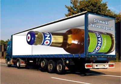 Lorry Advertising