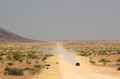 Namibia Driving Pictures