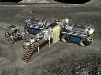 Nasa Moon Base