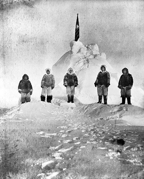 Peary-At-The-North-Pole-Picture-1