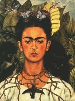 Frida-Kahlo-Self-Protrait-1940