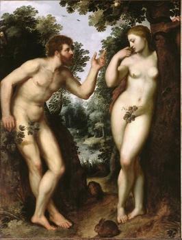 Rubens - Adam Et Eve