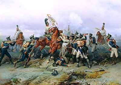 The Exploit Of The Mounted Regiment In The Battle Of Austerlitz
