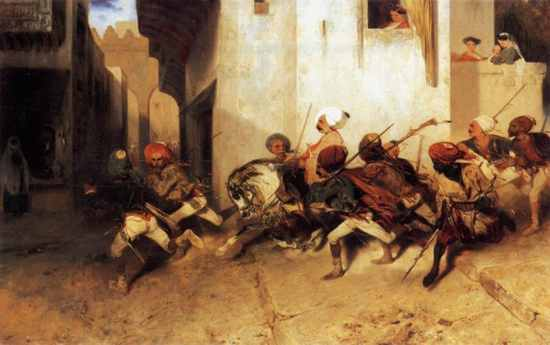 The Janissaries Patrol Izmir